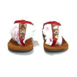 Vionic Rest Nala Embellished Thong Strap Sandals